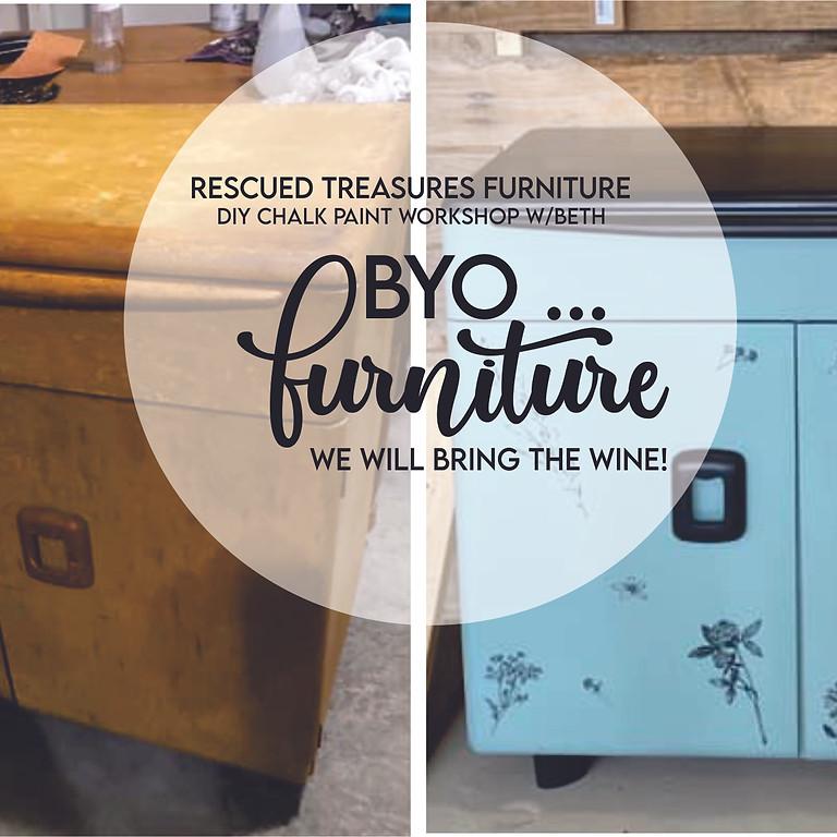 BYO... Furniture Chalk Painting Workshop