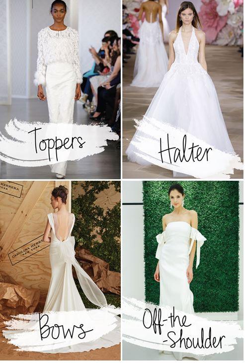 2017 Bridal Dress Emerging Trends