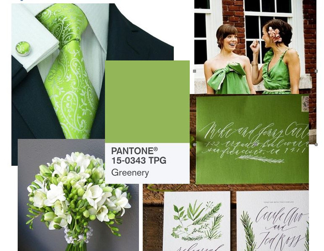 Pantone 2017 Color of the Year - Greenery