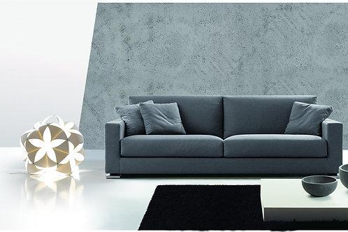 LARA 91 | Einzelsofa – großer 3-Sitzer mit 2 m. Armlehnen | B 230cm