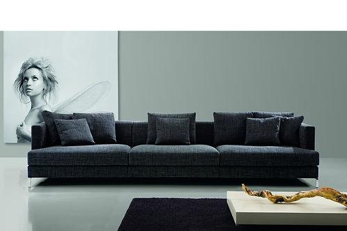 BLOG 107 | Einzelsofa 3-Sitzer Lounge | B 322 cm