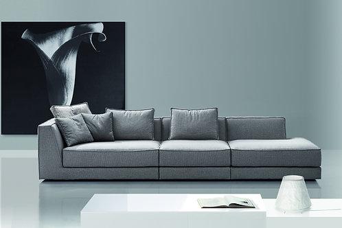 PARK | Eckgruppe –Element mit Armlehne/Schlußeckelement | B 252 cm