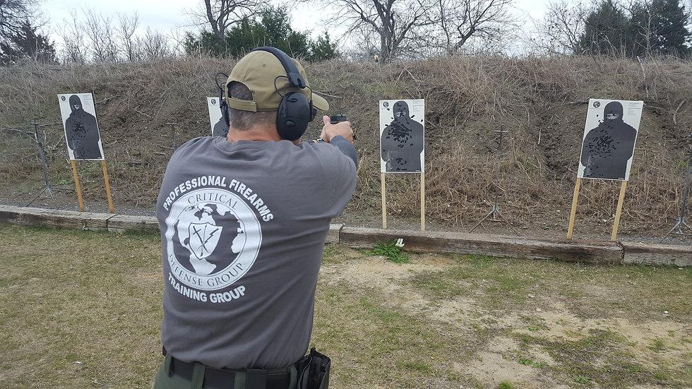 Handgun Proficiency-L. Barker PG 7/16/21