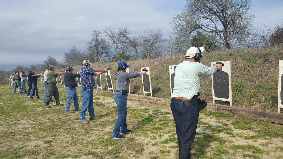 Texas LTC Live Fire Qual- Registration Link