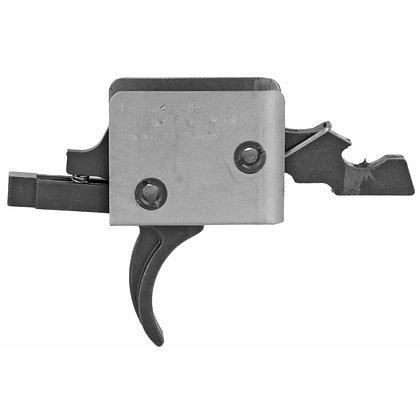 CMC Trigger Match, 3.5lb, Curved, Fits Small Pin AR, Black