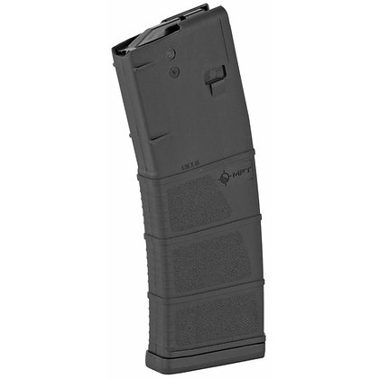 Mission First Tactical, Magazine, 223 Rem/556NATO, 30Rd, Fits AR-15, Black Polym