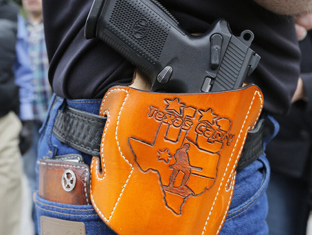 Texas Permitless Carry- Constitutional Carry