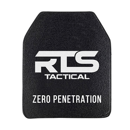 RTS TACTICAL CERAMIC NIJ 0101.06 LEVEL IV RIFLE PROTECTION 10X12 PLATE INSERT