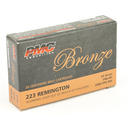 PMC BRNZ 223REM 55GR FMJ-1000 Rounds