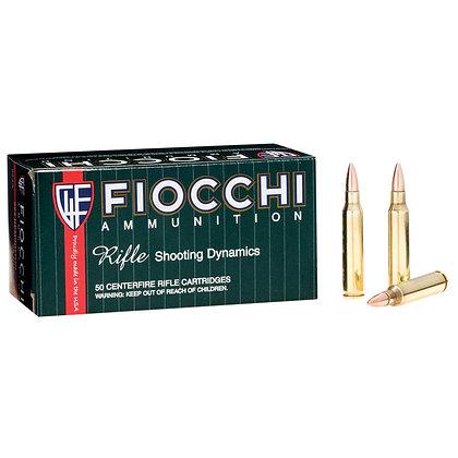 FIOCCHI 223REM 55GR FMJBT-1000 Rounds