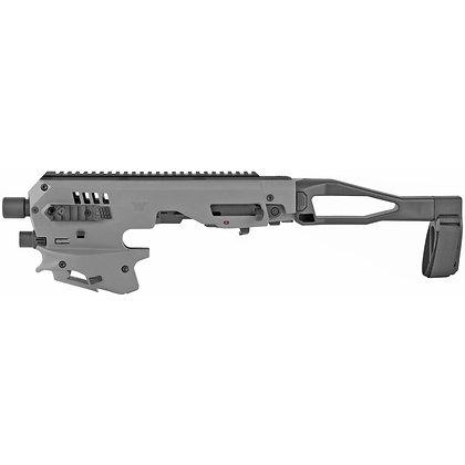 CAA, Micro, Handgun Conversion Kit, Fits Glock 17/19/19X/22/23/31/32/45-Gray