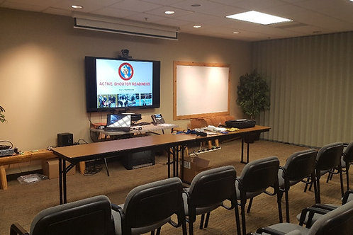 """""""Free"""" Active Shooter Readiness Room Defense Course on 9/3/19"""