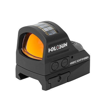 Holosun HS507C-X2 Reflex Red Dot Sight, 2 MOA Dot & 32MOA Circle Reticle