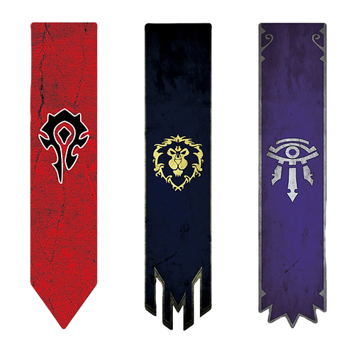 World of Warcraft Long Wall Flag