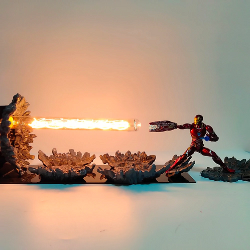 DIY Iron Man Light Stand
