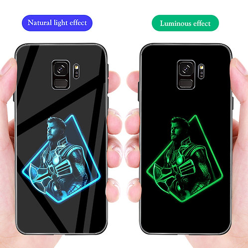 Thor Samsung S8 - S10 Luminous Tempered Glass Cases