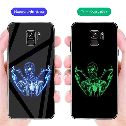 Spider Man Samsung S8 - S10 Luminous Temper