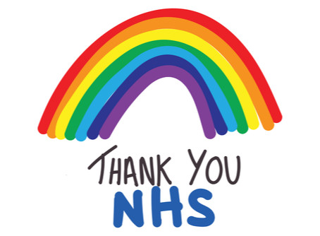 A massive thank you to all NHS clinicians for your dedication over the last few difficult months