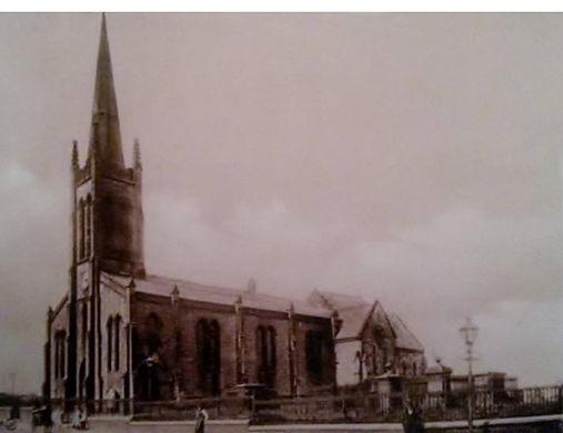Christ Church Tunstall spire