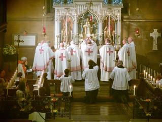 Eve of Corpus Christi Mass