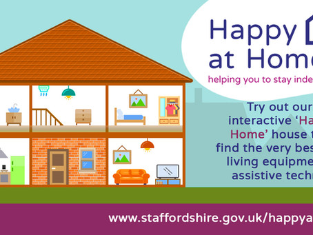 Happy at Home – new online tool to help people stay independent at home