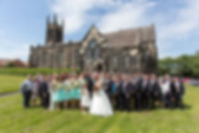 Wedding Christ Church Tunstall