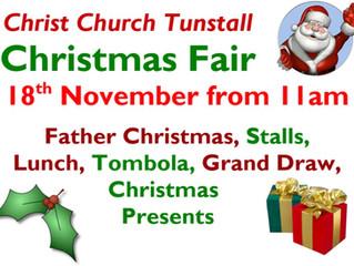 Christmas Fair 18th November