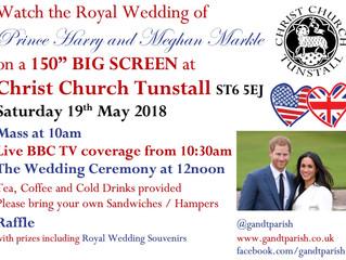 Big Screen Royal Wedding