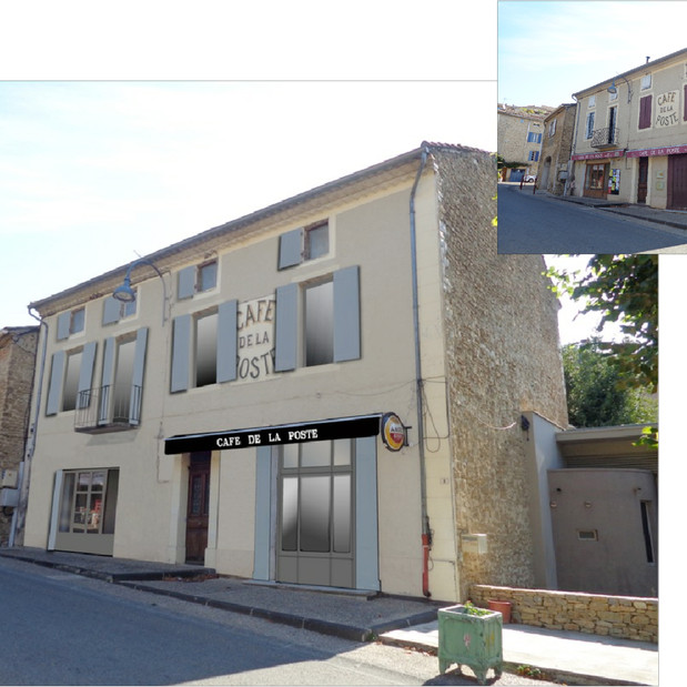 4 Logements et local commercial