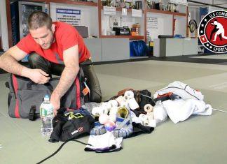 Brazilian Jiu Jitsu equipment bag