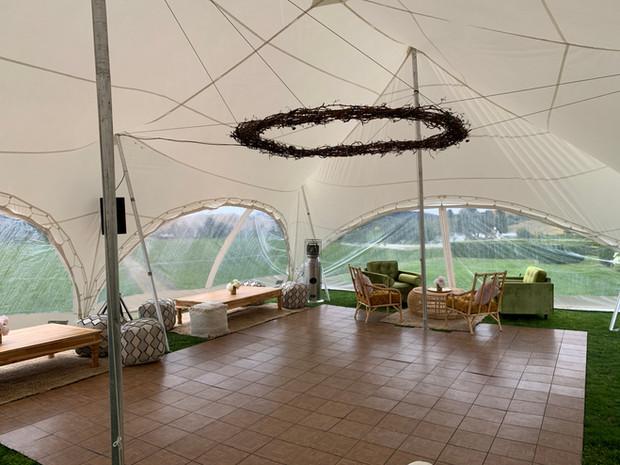 Dance Tent in 8.5m x 11.5m