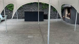 6m x 9m fixed to concrete