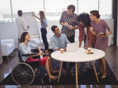 4 elementos para considerar en la inclusión laboral de personas con discapacidad.