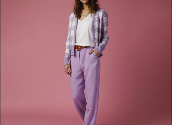 New York lilac trouser