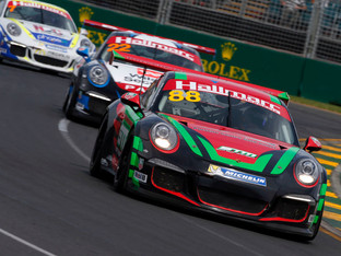 DAVIES CHARGES INTO THE GRAND PRIX TOP FIVE
