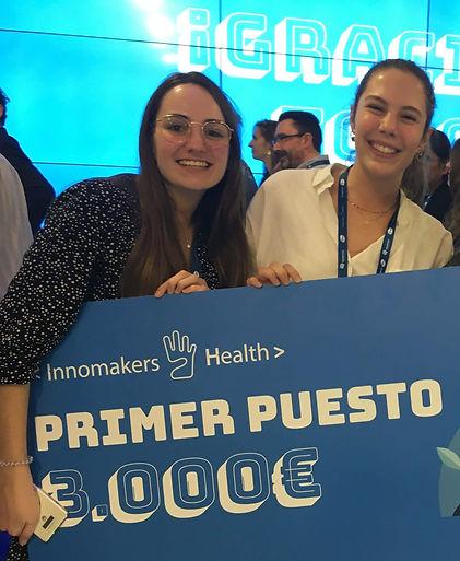 Primer Premio Innomakers4Health 2019