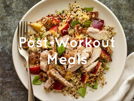 Post-Workout Meals