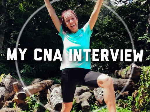 Running 13 000 km across Africa | Breaking Down my CNA Interview