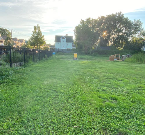 Plenty of space to enjoy wine and tend to your plants in our community garden!