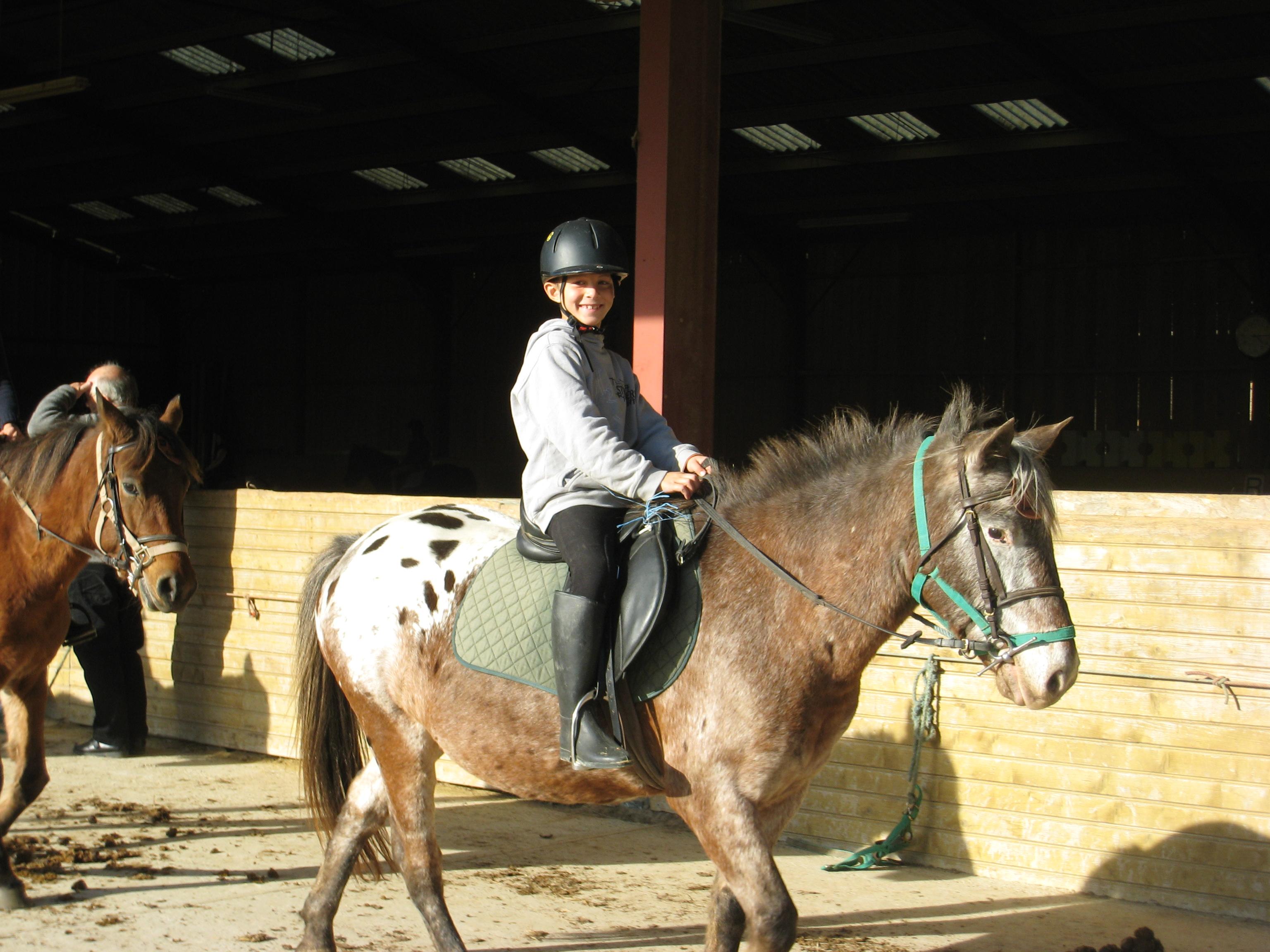 Horse-ridding