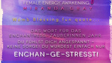 Womb Blessing Fun! :)