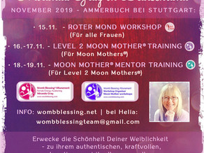 Workshops mit Miranda Gray 2019 in Deutschland