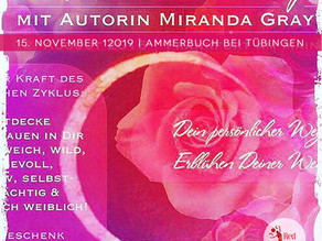 Roter Mond Workshop mit Miranda Gray