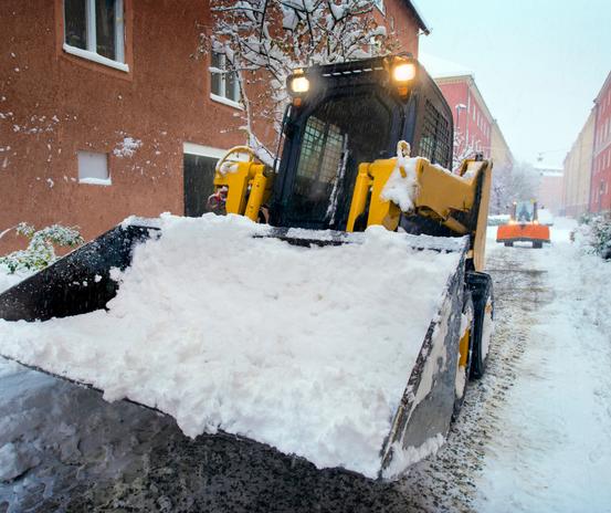 Snow Plow Skid