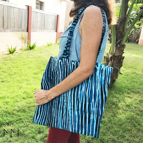 Tote Bag en Batik 100% coton