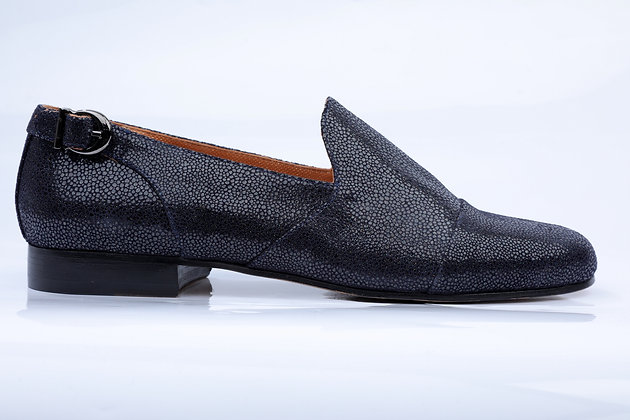 FRIDAY NIGHT BLUE NAVY LOAFERS