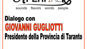 Avetrana : AperiTalk insieme a Giovanni Gugliotti presidente provincia di Taranto