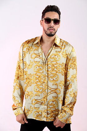 ROMEO LV LUXURY SILK SHIRT