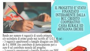 AL VIA IL BANDO PER IL DOPOSCUOLA GRATUITO PRESSO L'ASSOCIAZIONE UNIONE GIOVANI ITALIANI