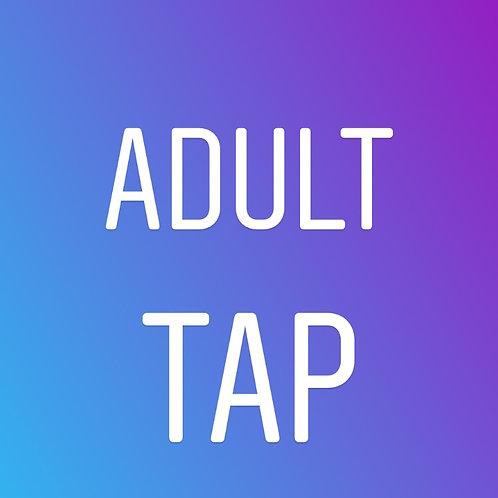 Adult Tap: Thursdays 7pm In Studio (8 weeks)